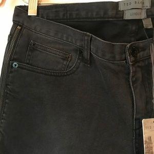 Ted Baker London Jeans - ted baker side zip skinny jeans dark wash
